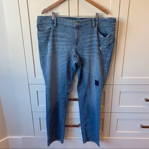 Old Navy Skinny Jeans with Patch Detail